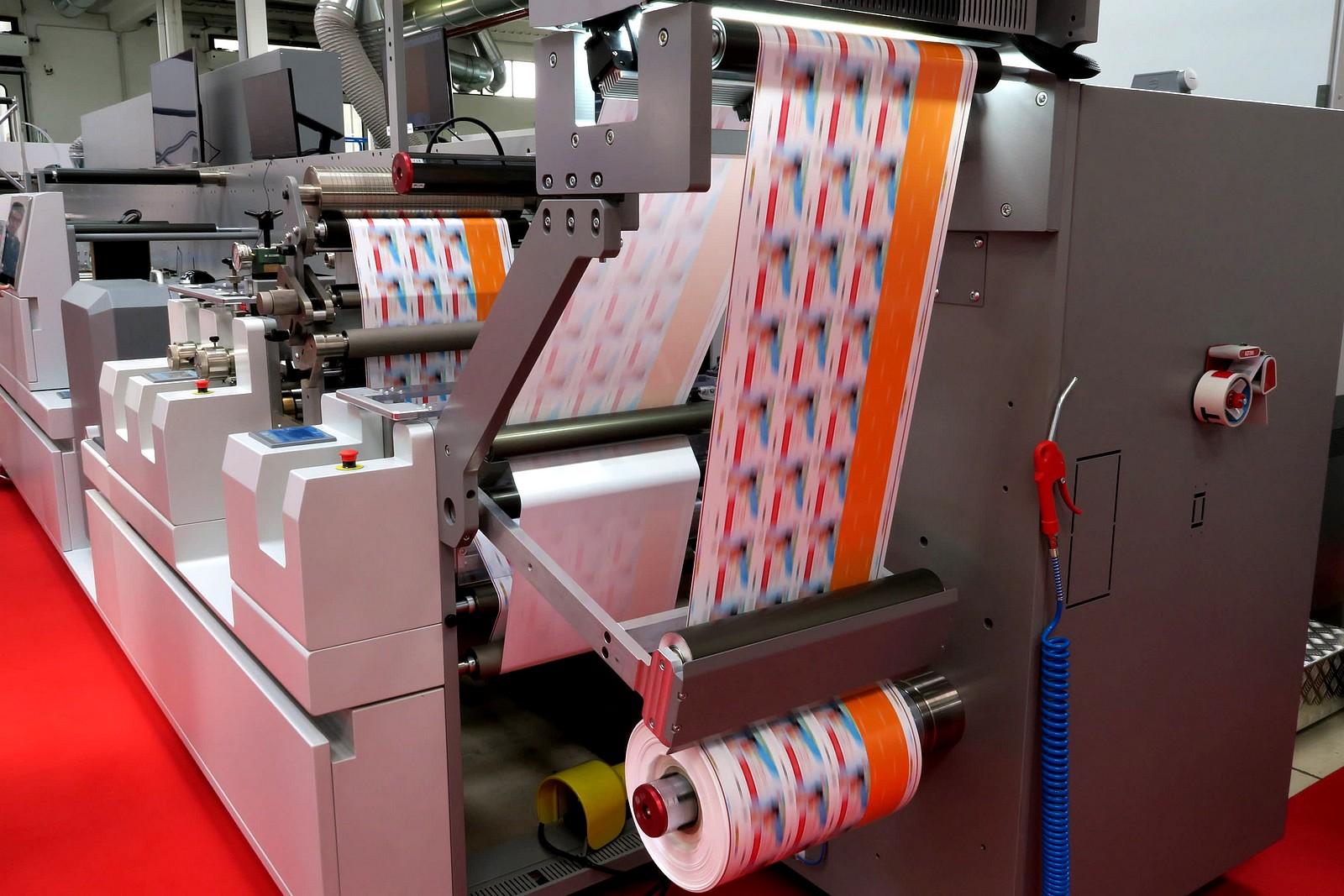 fabrication d'étiquette industrielle